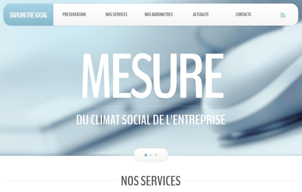 Site dédié à la mesure du climat social