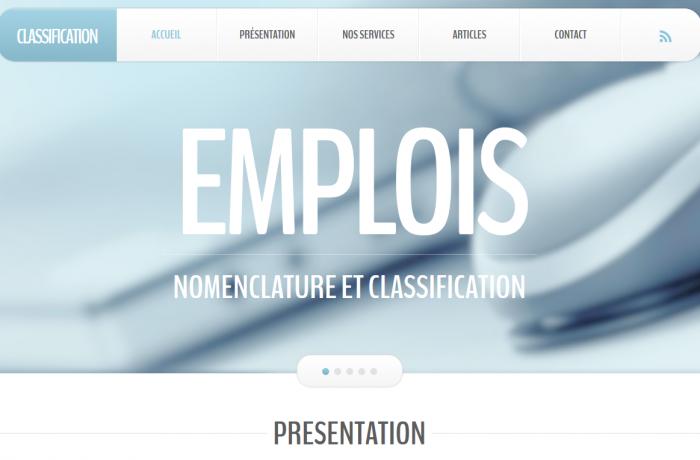www.classification-emplois.com